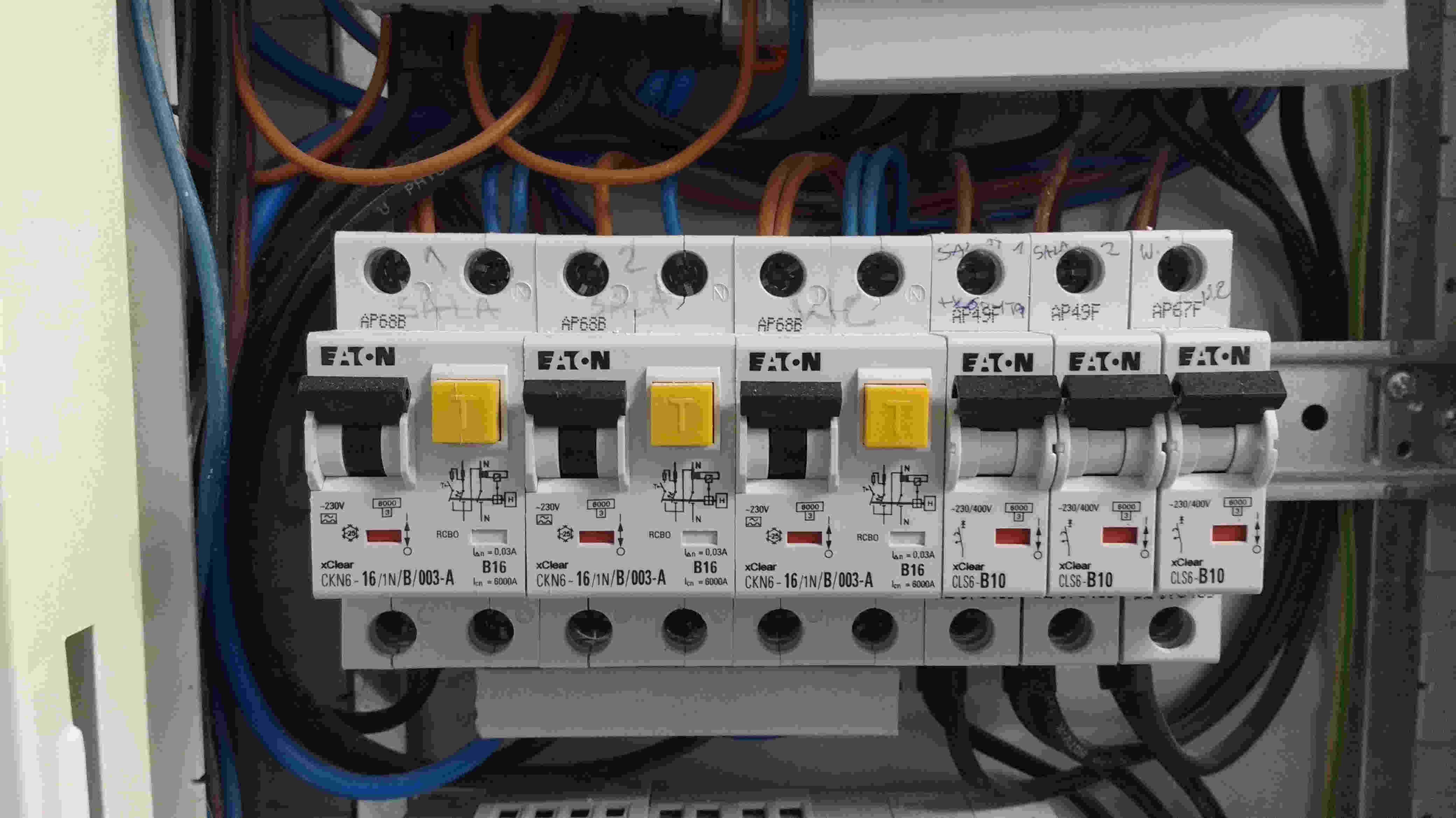 Montaż rozdzielnic elektrycznych